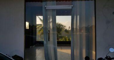 glasdør i dit hus
