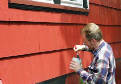Få huset malet